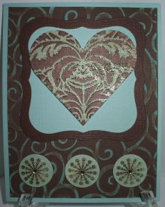 Starburst Heart Card - Natural Laundry Line