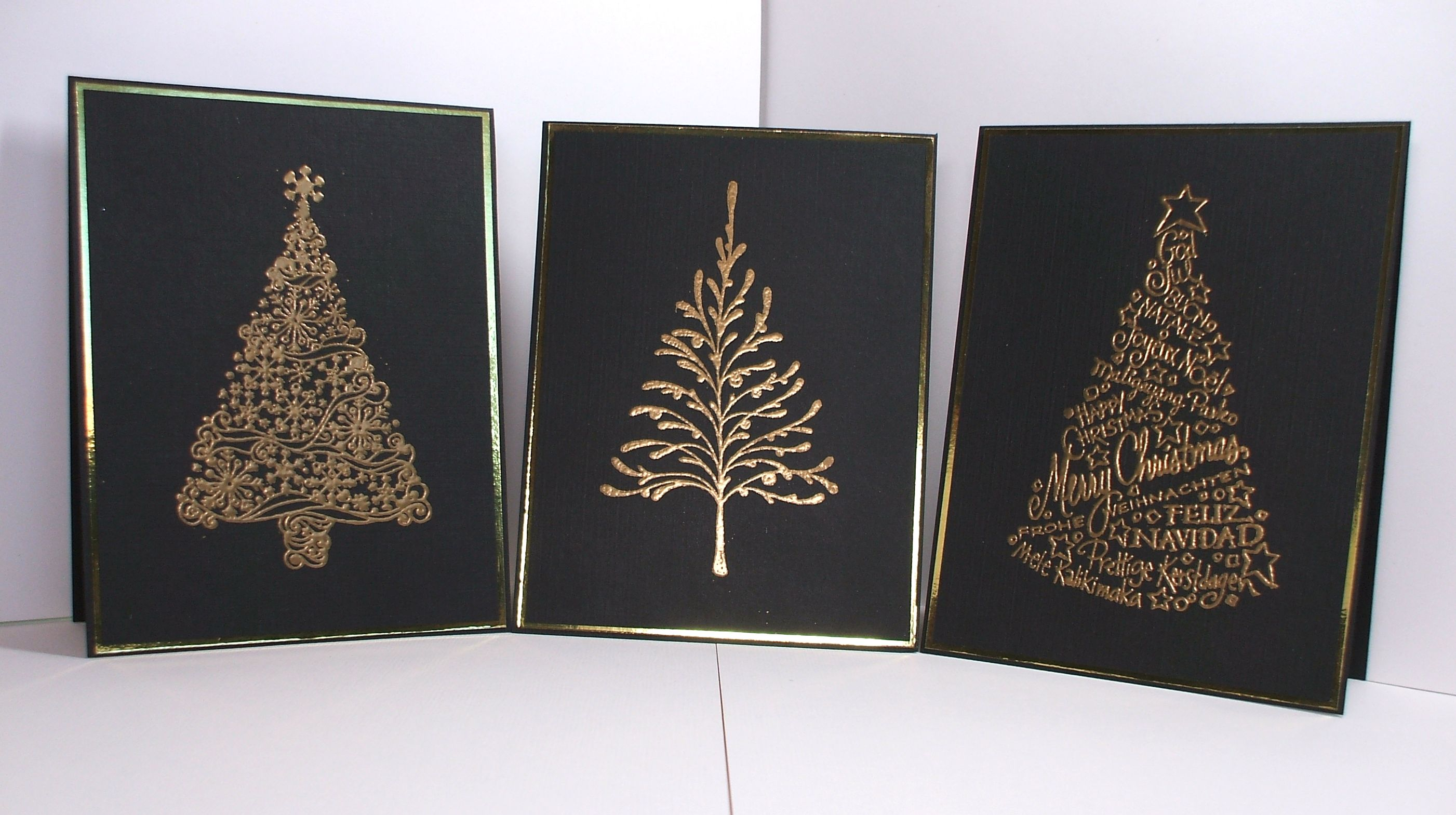 Christmas Trees Spikes Christmas Tree Stamp
