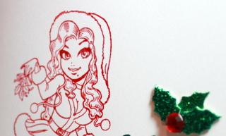 Easy Christmas Cards 56b_Spike