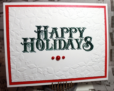 Easy Christmas Cards 57_Spike